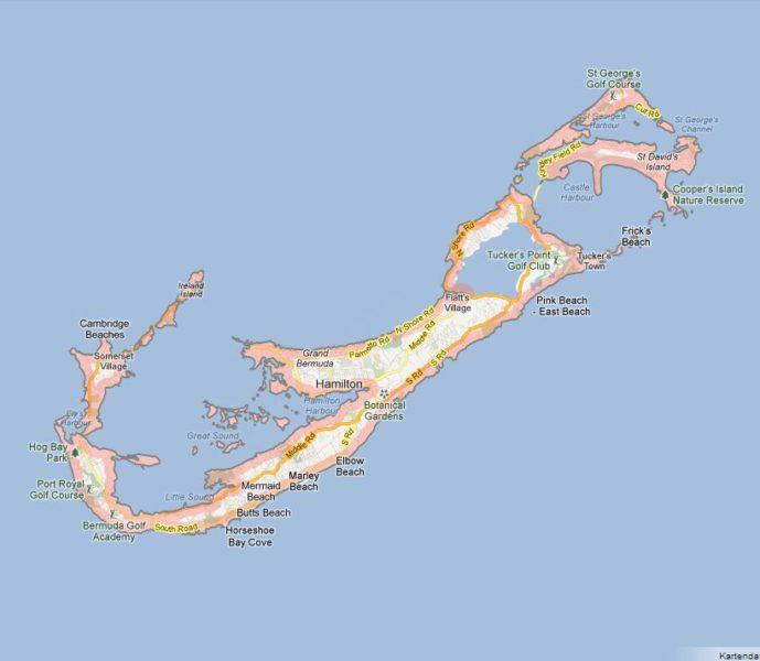 Die Bermudas - ein Bade- und Golfparadies! 1