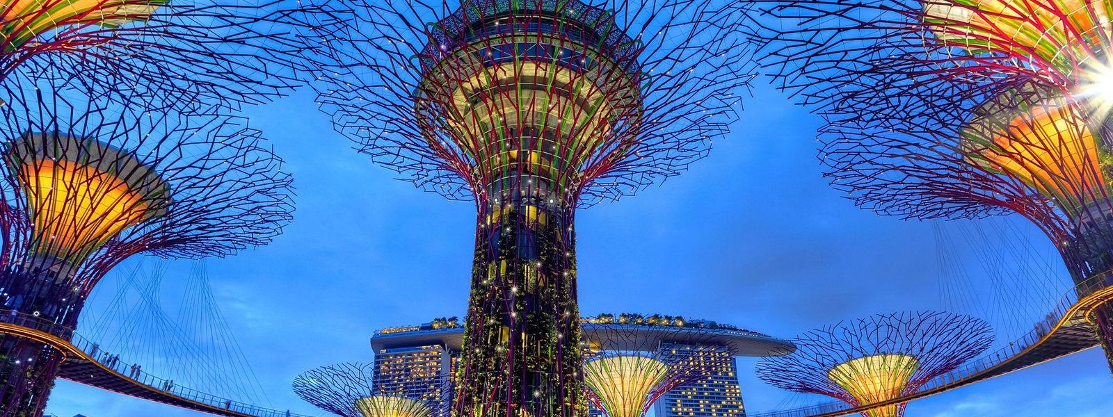 Reise nach Singapur und Bali