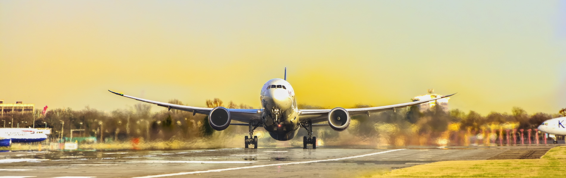 Flugzeug beim abheben, CC0 Creative Commons