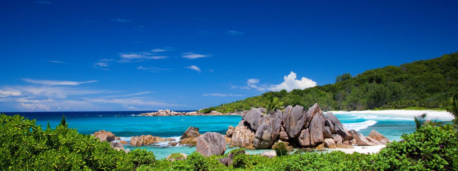 Anse Coco, Seychellen, Sehnsuchtsbild Flugangst
