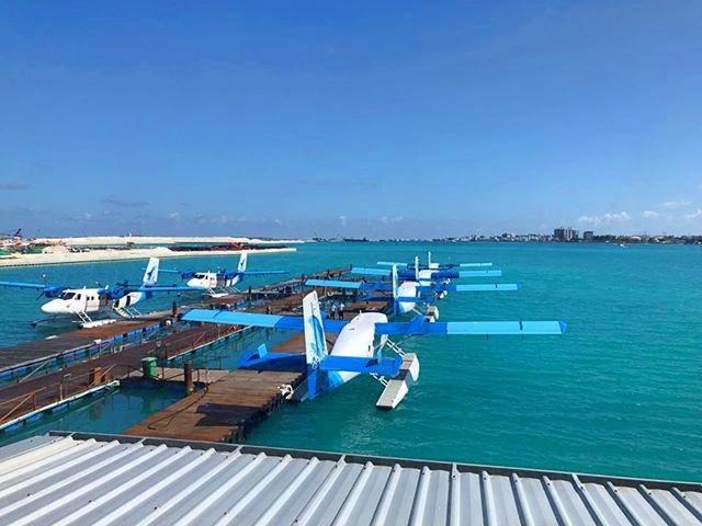 Heike Greshake Male Wasserflugzeuge