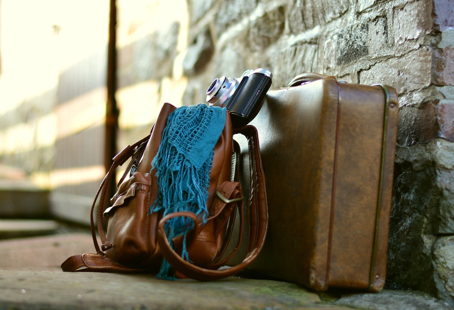 Nachhaltig gepackte Koffer