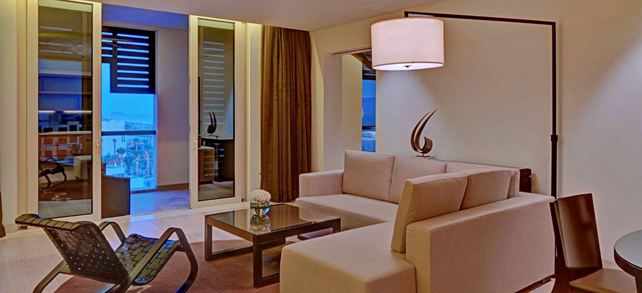 Lounge der Executive Suite im Hotel Pakr Hyatt Abu Dhabi