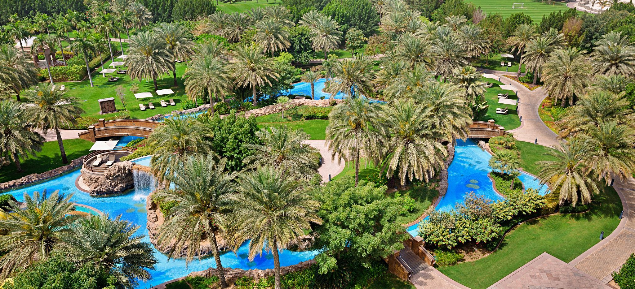 Wasserpark des Hotels Emirates Palace