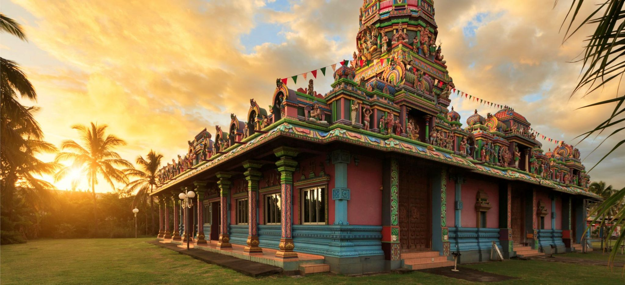 Hinduistischer Tempel auf La Réunion