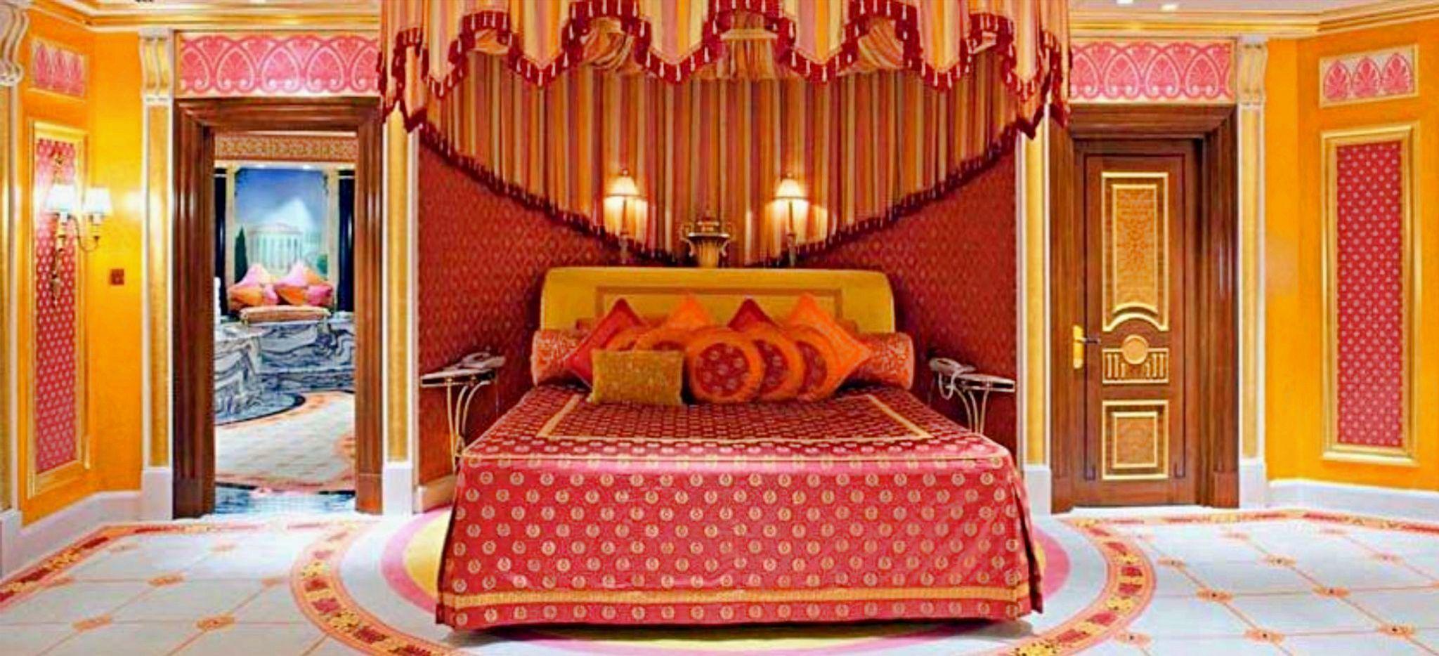 Schlafzimmer der Royal Suite im Hotel Burj al Arab