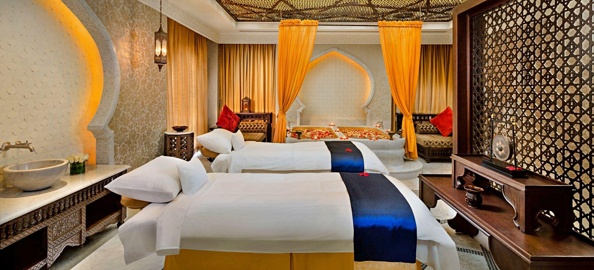 Paarmassageraum im Hammam des Emirates Palace Abu Dhabi