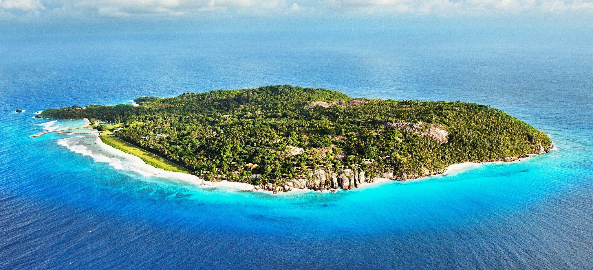 Die Insel Frégate, Seychellen