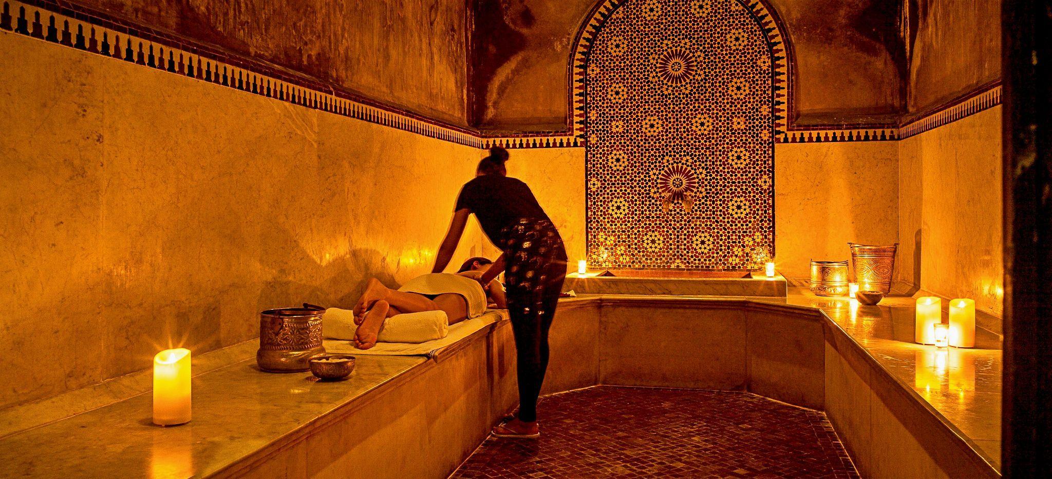 Hammam des Hotels Selman, Marokko