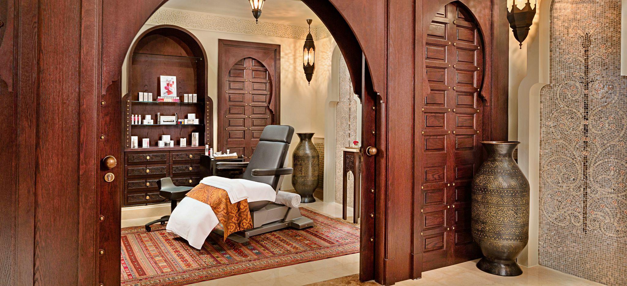 Wellness Behandlungsraum im Hamam des Emirates Palace Abu Dhabi