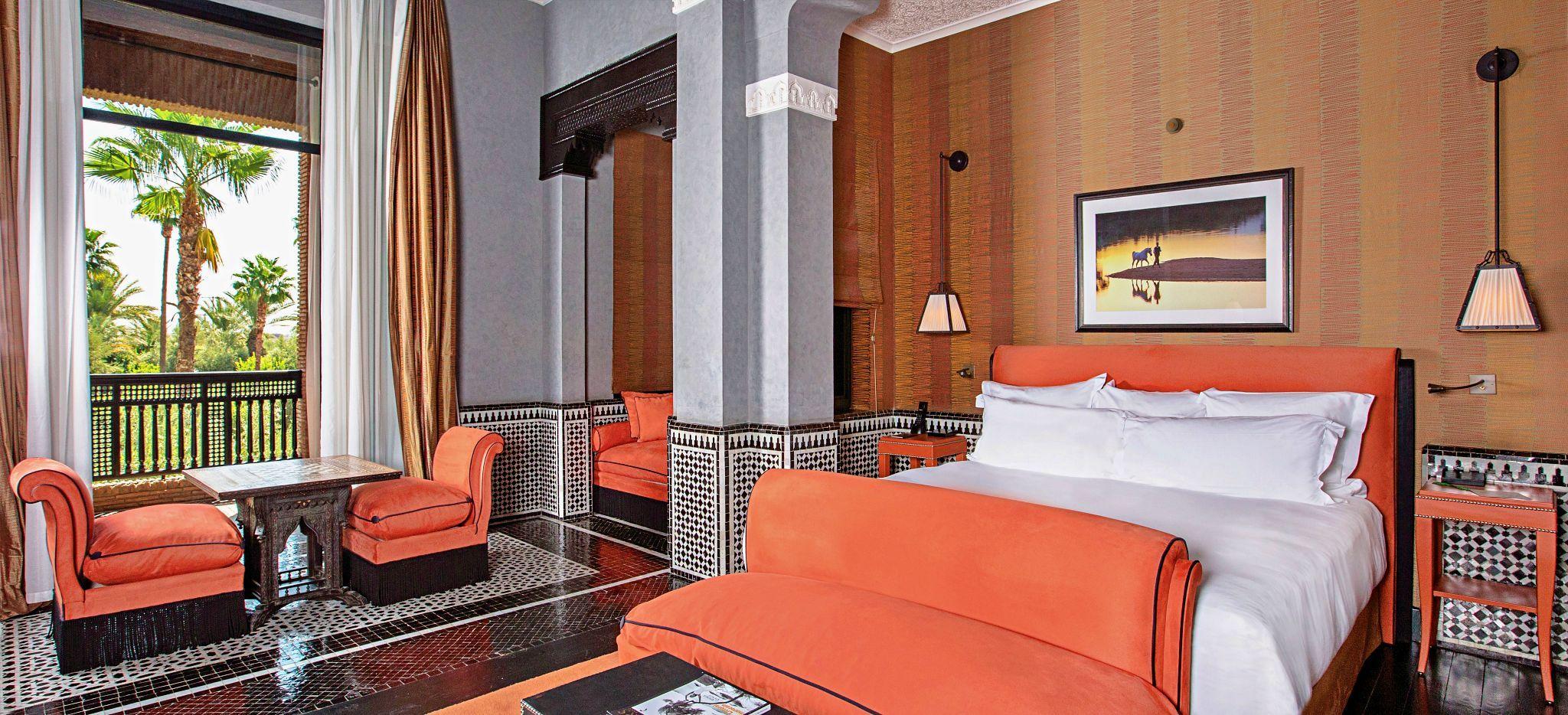 Hotelzimmer im Hotel Selman, Marokko