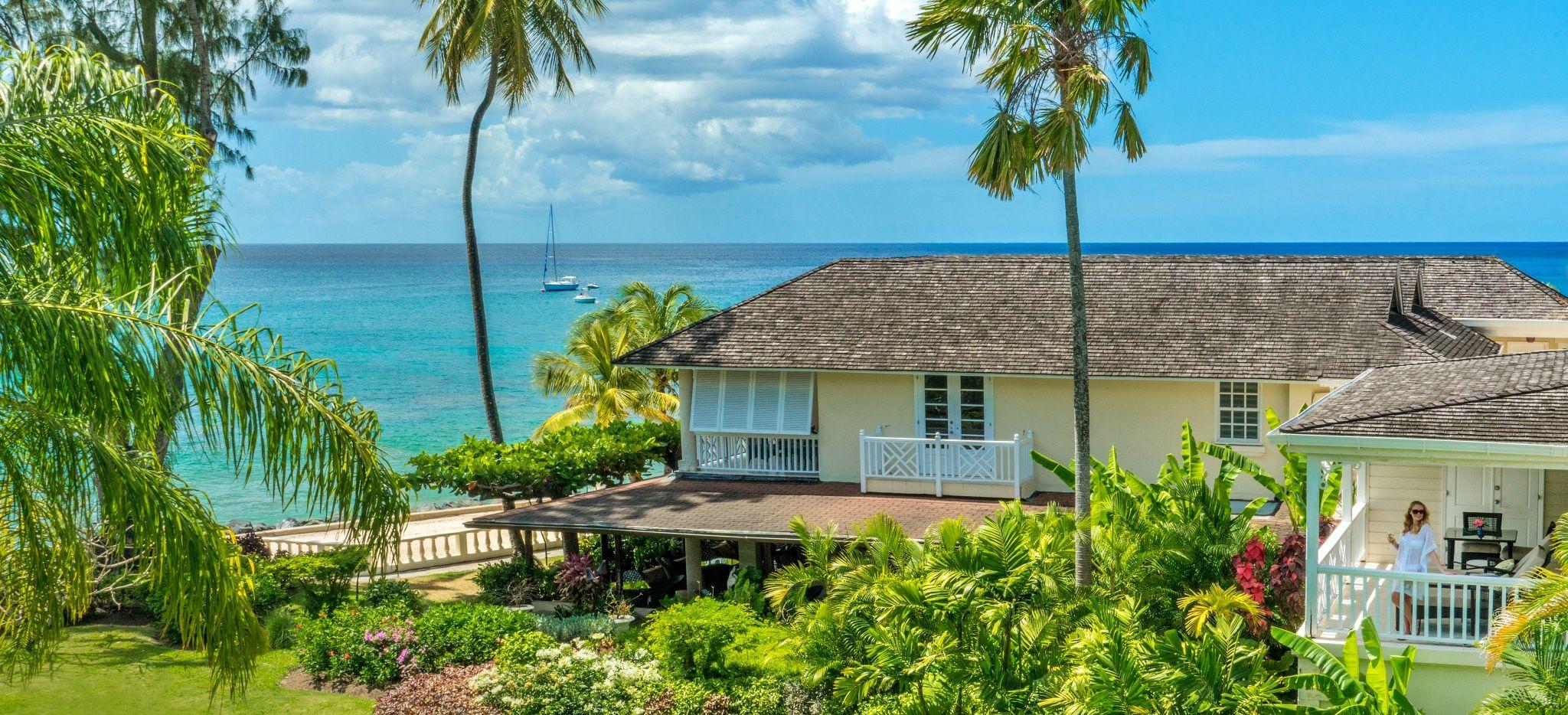 "Ein Hotelzimmer am Strand im Hotel ""Coral Reef Club Barbados"""