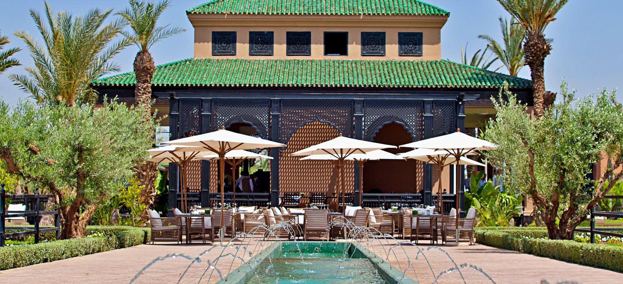 Marokkanisches Gebäude im Hotel Selman