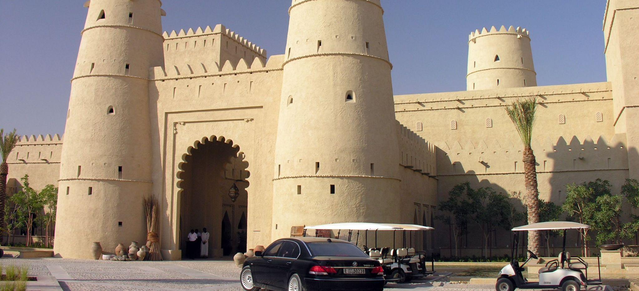 Innenhof des Anantara Qasr al Sarab