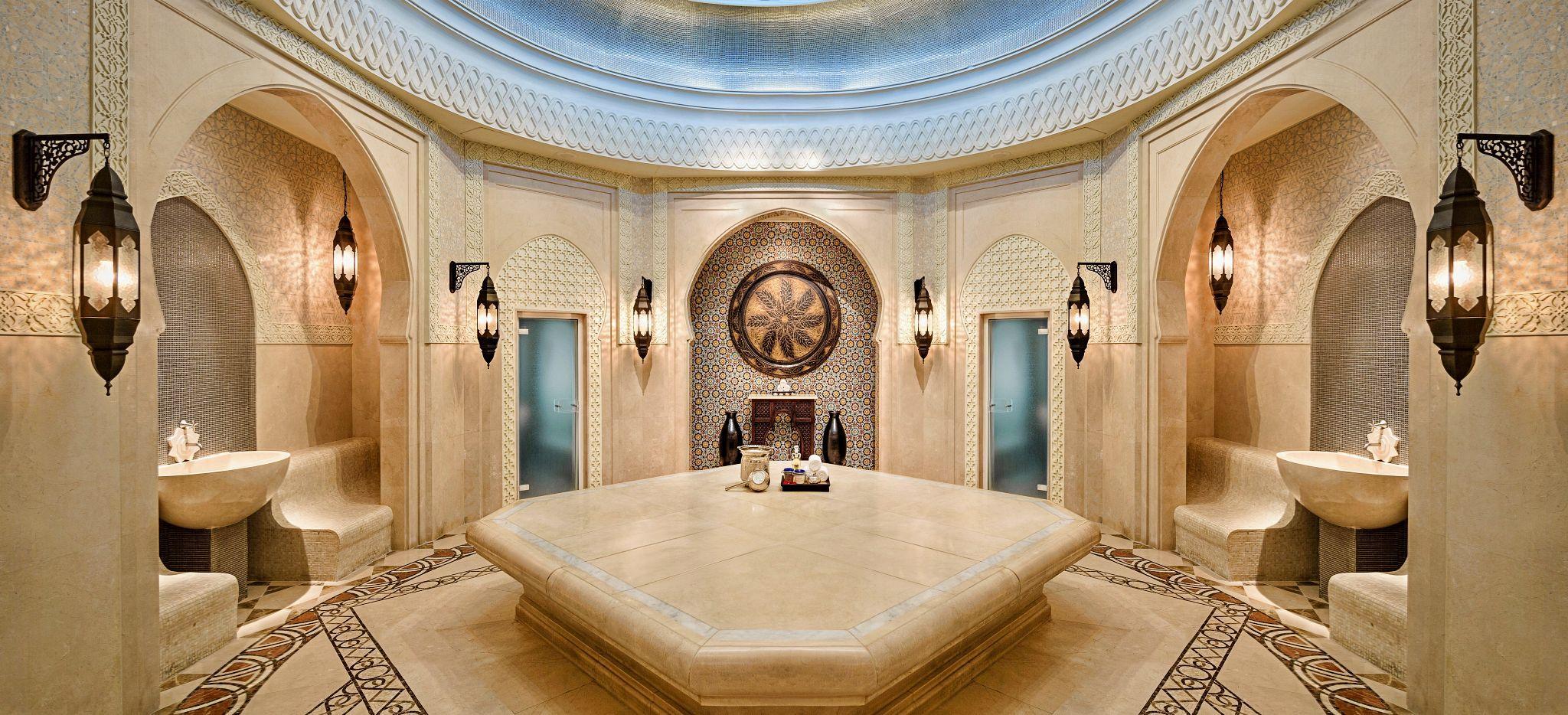 Hammam des Hotels Emirates Palace Abu Dhabi