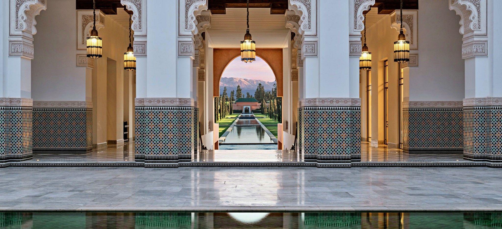 Hotel Oberoi Marrakech, Marokko