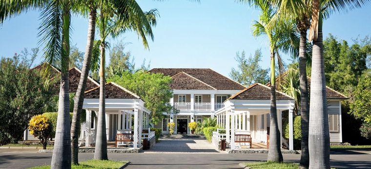 Ein modernes Herrenhaus im Stil von La Réunion, um Hotel Lux* Saint Gilles
