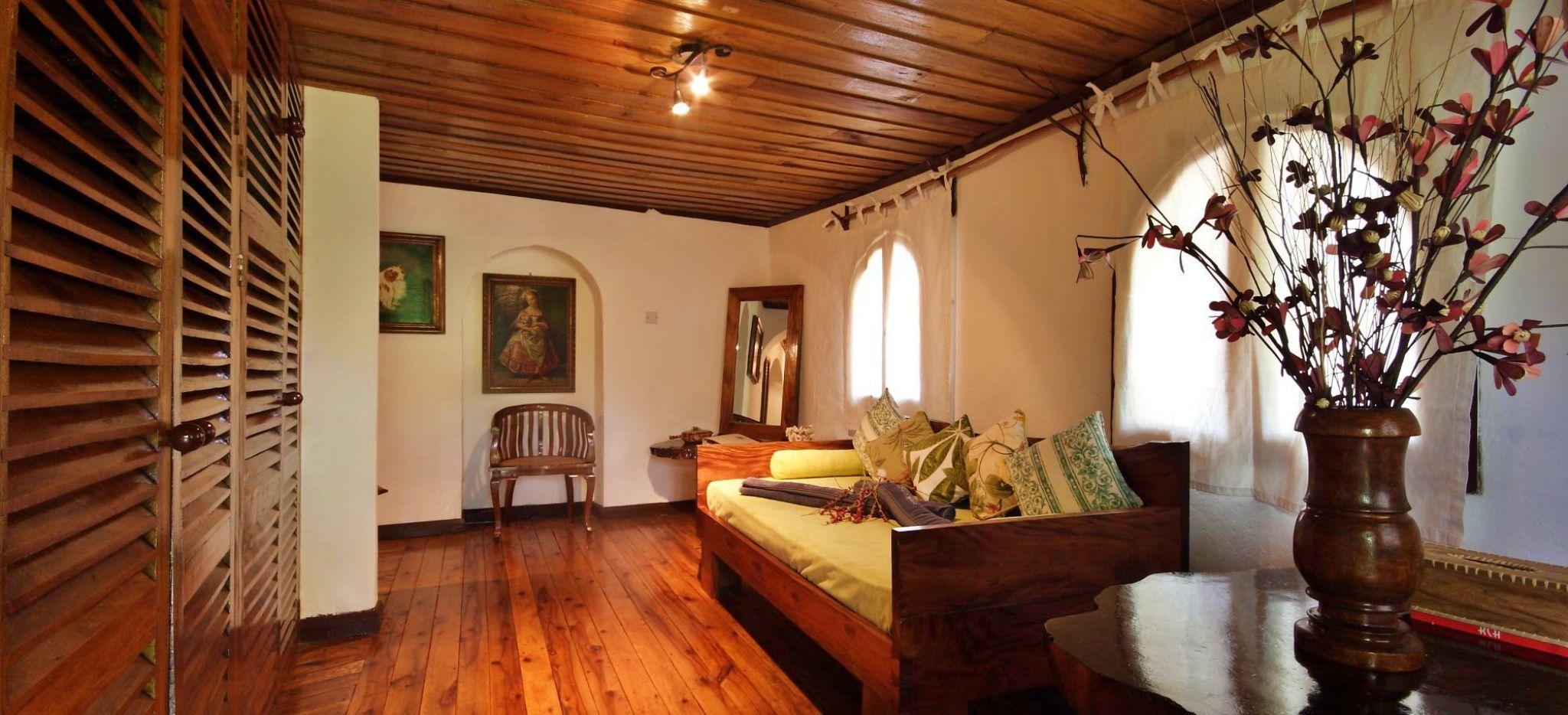Hotelzimmer Farmer Room im Chauve Souris Relais