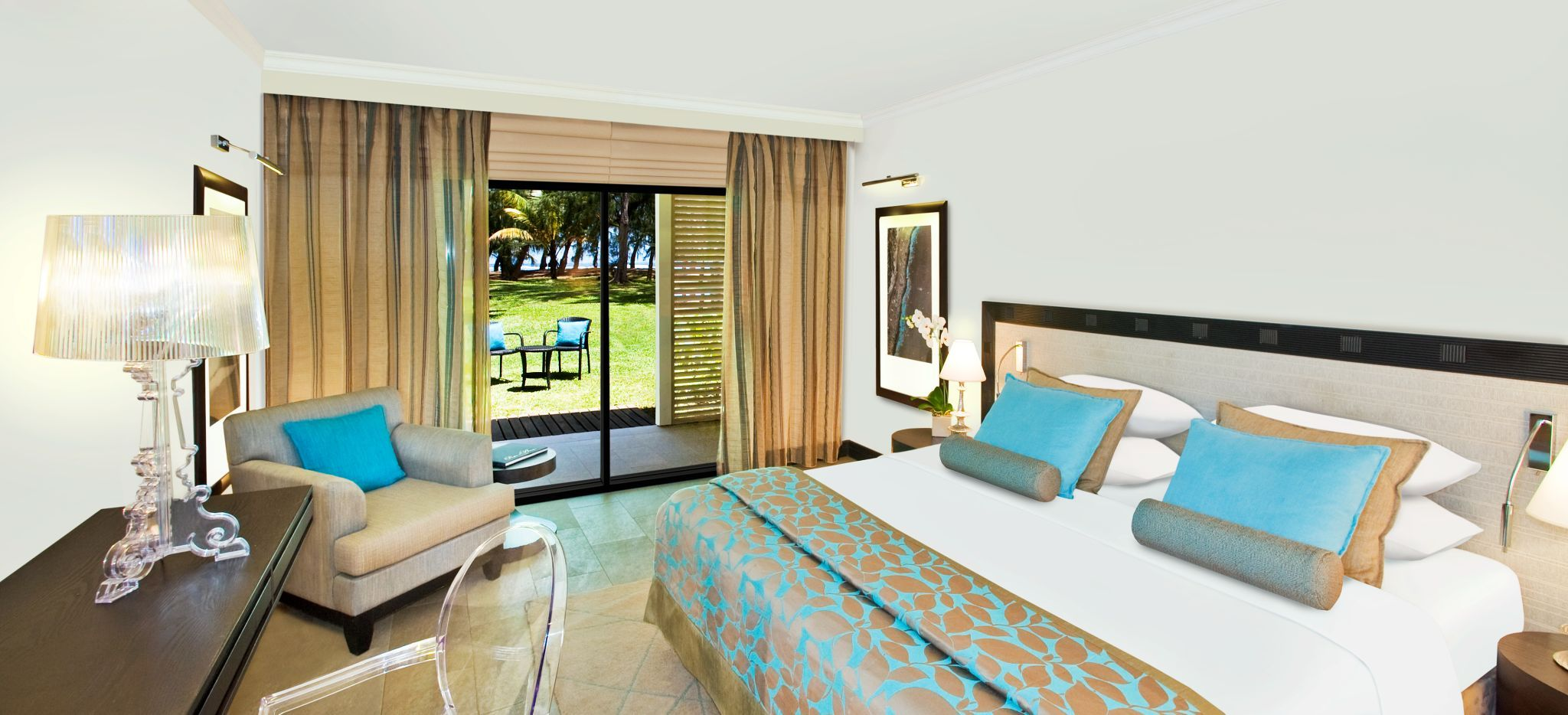 Hotelzimmer der Kategorie Superior Room Im Hotel LUX* Saint Gilles