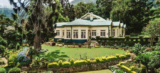 """Ein Haus im Sri Lankischen Dschungel, im Hotel """"Thotalagala"""""""