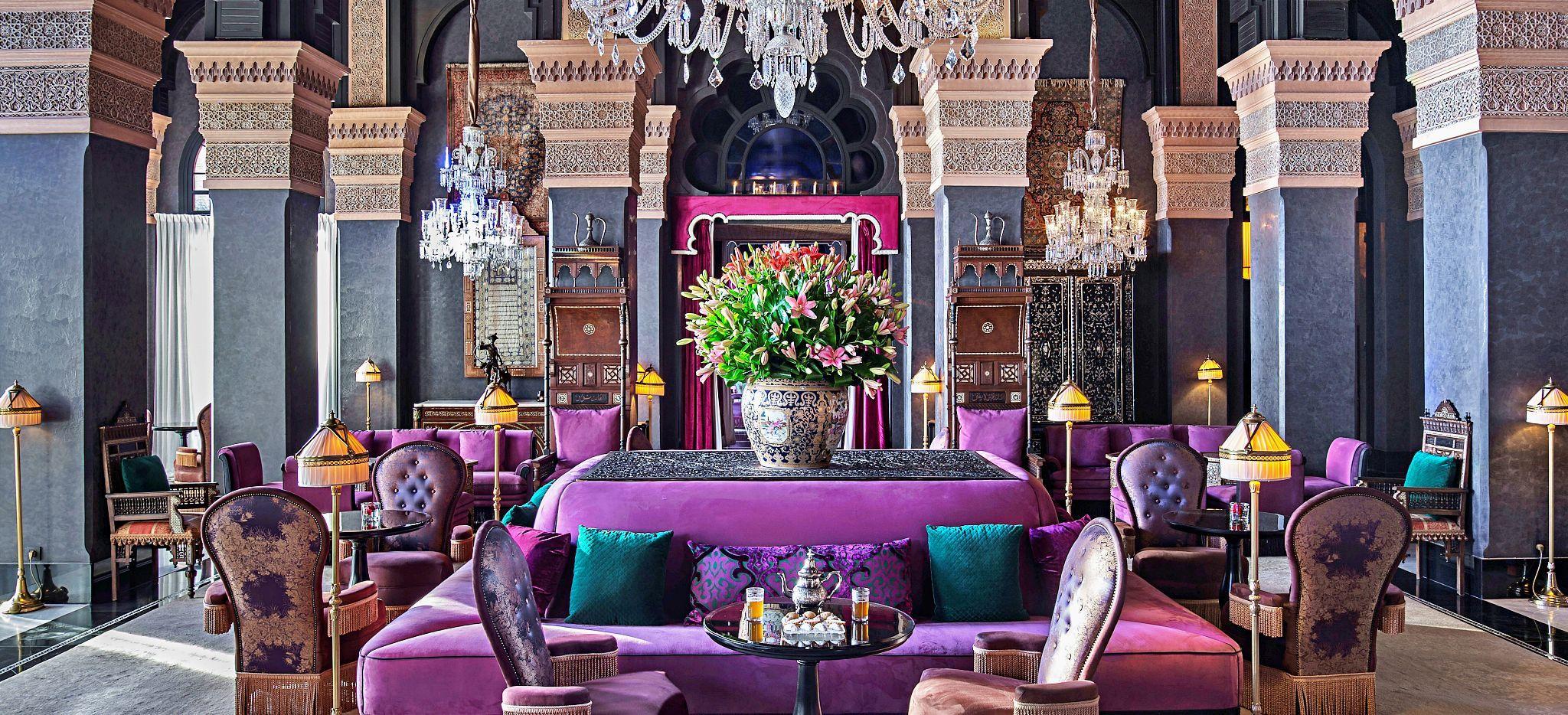 Lilane Lobby des Hotels Selman