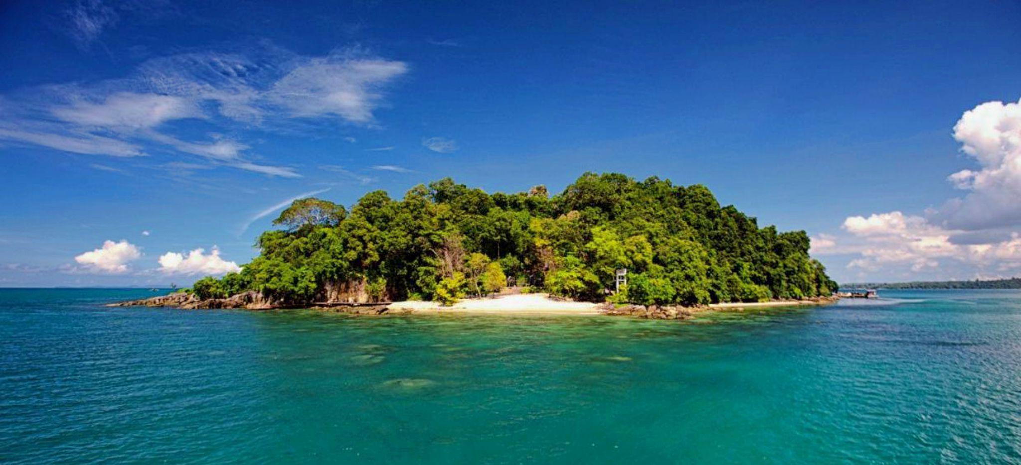 Die Insel Krabey Island