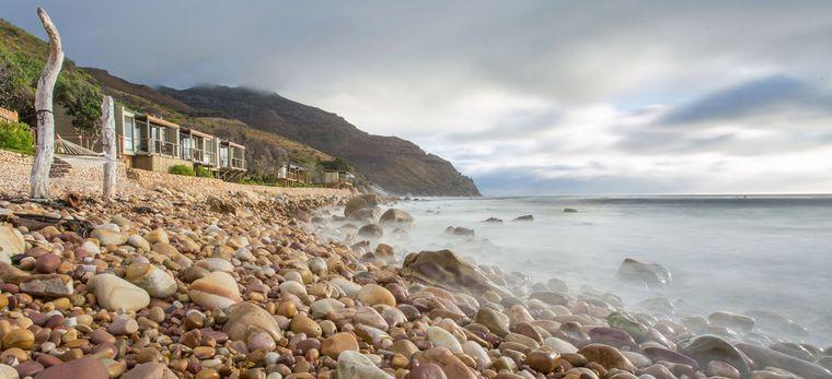 Die Küste des Hotels Tintswalo